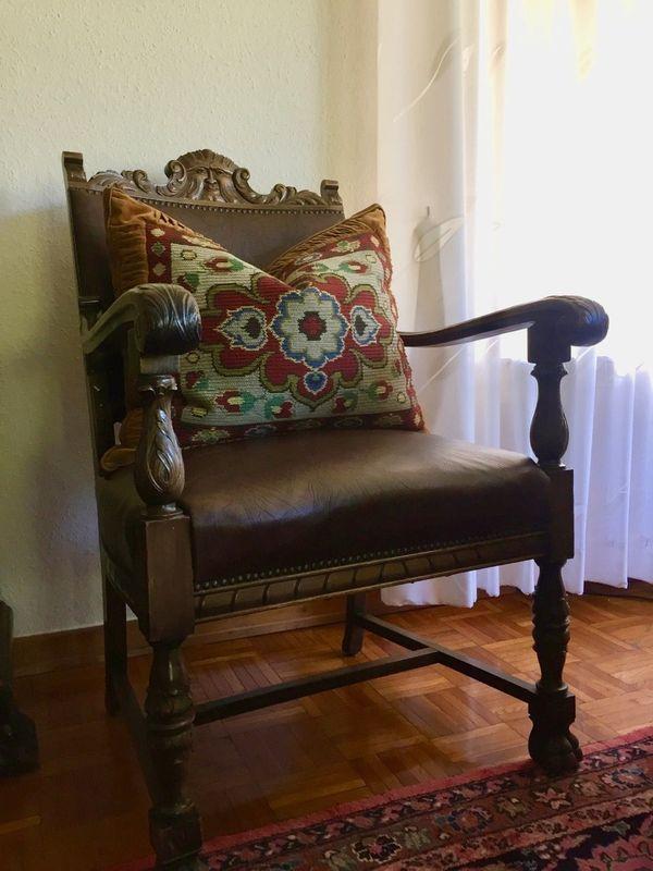Sessel Armlehnsessel Antik historisch Herrenzimmer