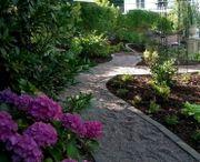 Schöne Gärten von der besten