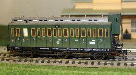 Modelleisenbahnen - 5092 Fleischmann DRG Abteilwagen 3-achs