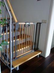 Treppenschutzgitter Geuther Easylock Wood 2793