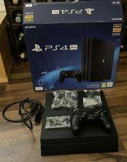 PS4 Pro mit eingebauter Seagate