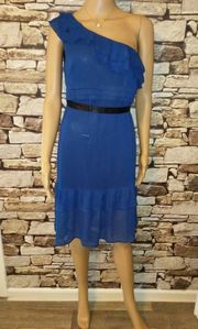 One Shoulder Party Kleid Marke