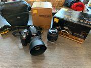 Nikon D3300 2 Objektive Zubehör