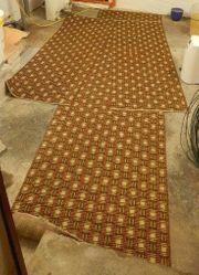 Bettumrandung Teppich 3-teilig