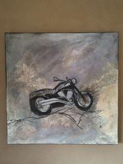 Acrylbild Motorrad