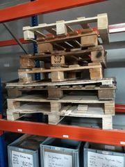 Ca 12 Holzpaletten zu verschenken