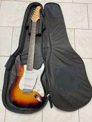 E-Gitarren Set mit Verstärker und