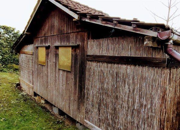 Gartenhäuschen Gartenhaus mit Unterständen