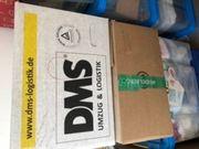 Flohmarktartikel in Kartons