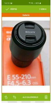 Sony 55-210mm f4 5 - f6