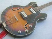 Vintage-Hofner-Gitarre-E-Gitarre-Halbresonanzgitarre-Archtop