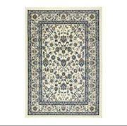 VALLÖBY Teppich beige blau