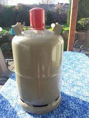 11 kg graue Gasflasche