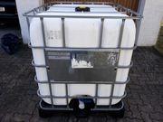 Wassercontainer IBC 1000 liter