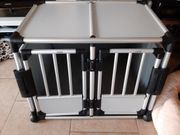 Trixie Transportbox Aluminium doppelt Neu