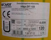 1 Rolle Isover Zwischensparren-Klemmfilz Integra