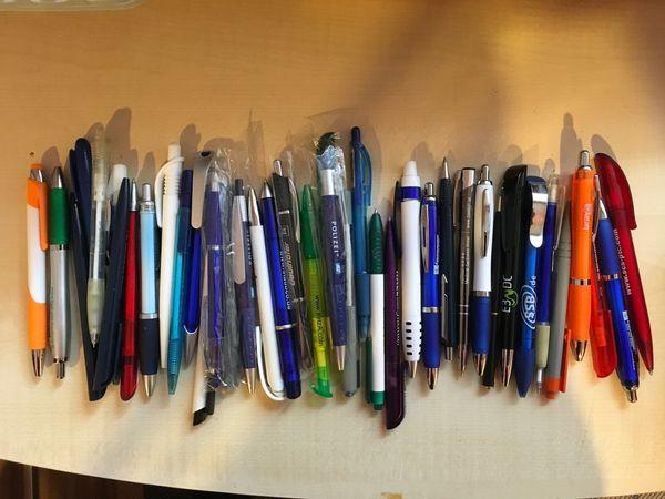KugelschreiberSammlungsauflösung