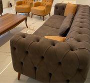 chesterfield Sofa grau