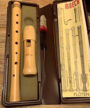 Flöte Moeck 120 Ahorn