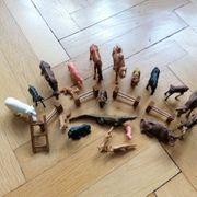 Tierfiguren DDR 20 Stück Holzzäune