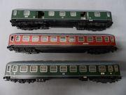 TRIX Express H0 Konvolut DB - D-Zug-Wagen -