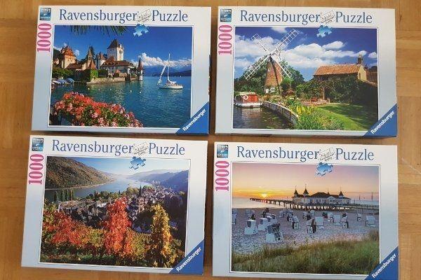 Ravensburger Puzzle 500 1000 2000