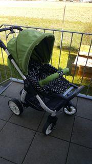Gepflegter Kinderwagen Teutonia Cosmo 2014