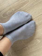 Fussbilder oder getragene Socken nach