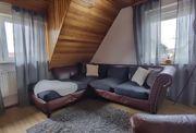 Orientalisches Mosambik Oldscool Leder Sofa