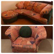 Stylisches buntes Sofa Couch mit