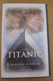 VHS Titanic mit Leonardo Dicaprio