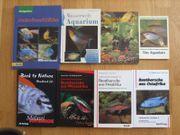 Aquaristik Literatur 8xBücher Ratgeber Konvolut