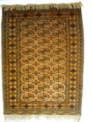 Orientteppich Buchara Tekke antik T084