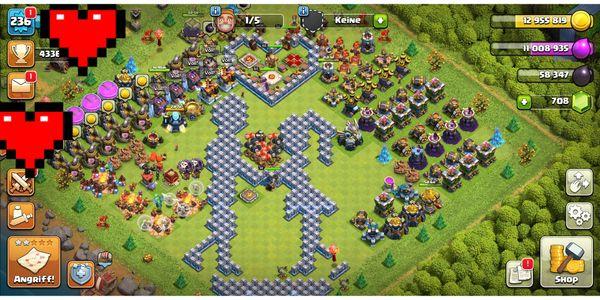 Clash of clans 70 max
