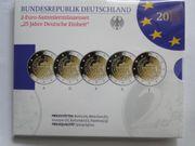 2-Euro-Sammlermünzenset 25 Jahre Deutsche Einheit