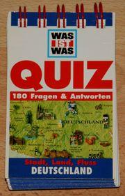 NEU - Wissens-Quiz Deutschland - für Kinder -