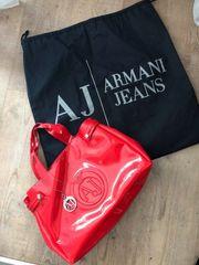 Armani Jeans Damen Handtasche Rot