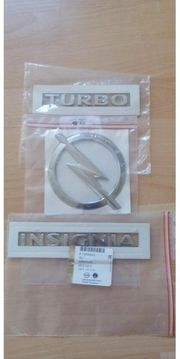 Opel Insignia Turbo Embleme