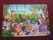 Puzzle Dschungelbuch - 104 Teile