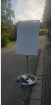 Flipchart Präsentationstafel Magnet Aufstellhöhe 190