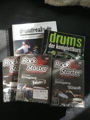 Schlagzeugschule Bücher DVDs