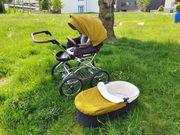 Angelcab Öko Bio Kinderwagenset mit