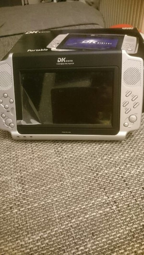 DK DVP-800 Tragbarer DVD Player