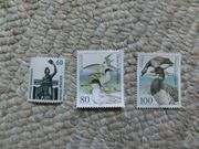 Briefmarken NEU Zwergseeschwalbe Ringelgans Bavaria