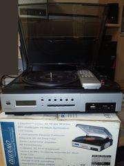 Anlage um Schallplatten direkt zu