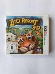 Nintendo 3DS Spiel ZOO RESORT