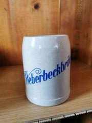 Bierkrug Weberbeckbräu