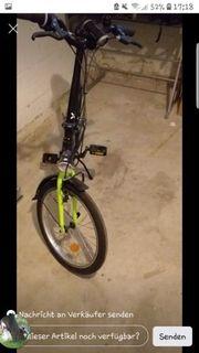 klapp Fahrrad