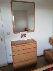Schlafzimmer komplett helles Holz