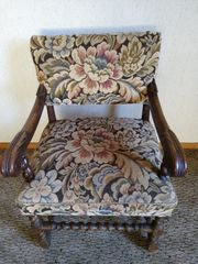 Antik Lehnen-Sessel -Stuhl
